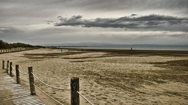Playa Riumar delta del ebro