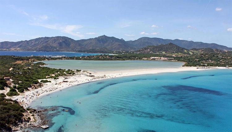 Playa Giunco villasimius cerdeña