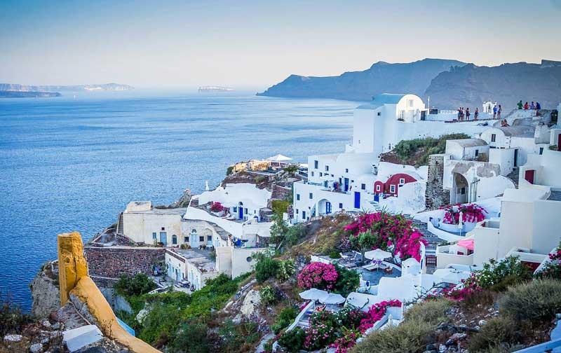 Viajar en Agosto a las islas griegas