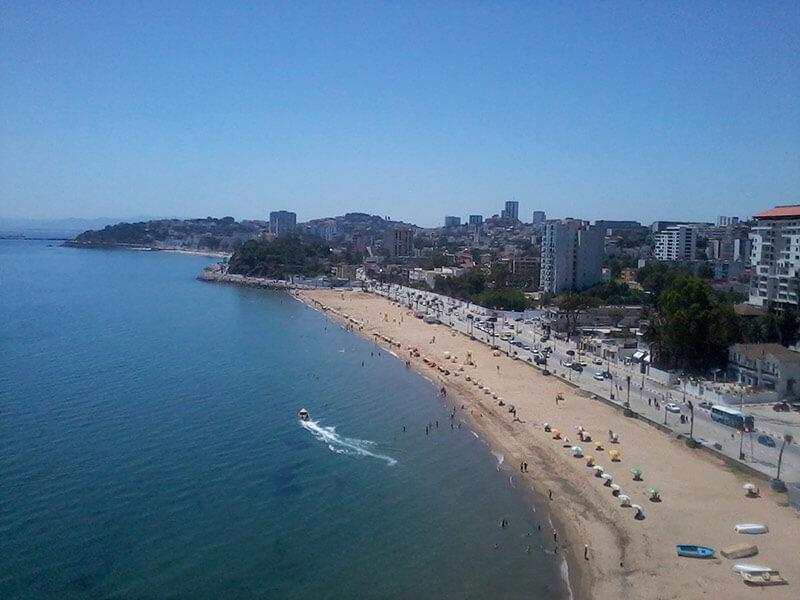 playas más calientes del mundo: playa annaba argelia