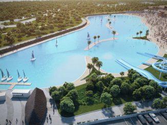 La nueva playa artificial de Madrid 1