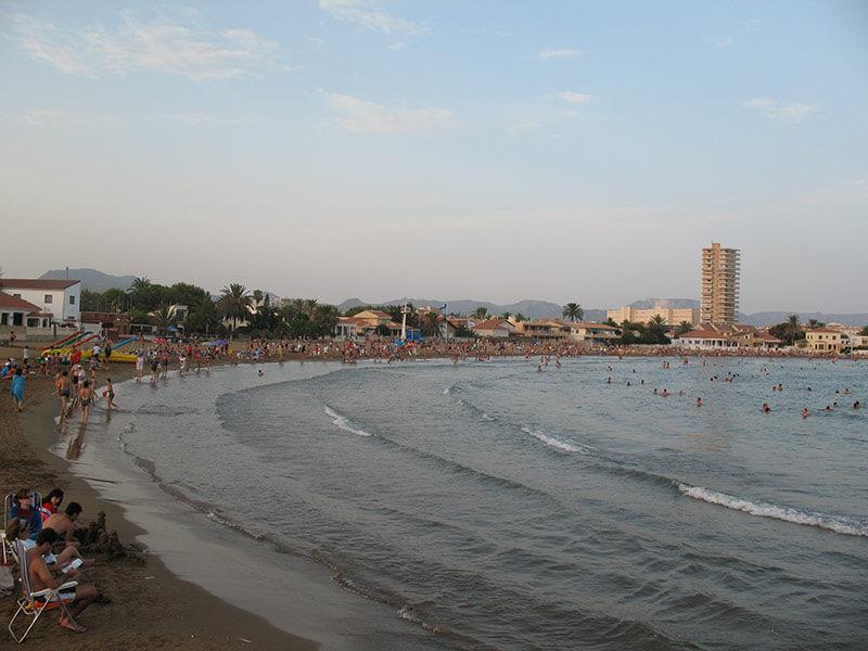 playa bahia murcia
